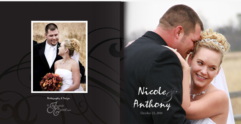 Tracie Grant Creative Photography and Design Wedding Portrait Book ...